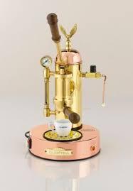 Elektra Micro Casa Copper Brass Manual Lever Espresso Cappuccino Machine 220V