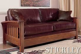 Stickley Furniture Leather Recliner by The Furniture Shoppe Offering Stickley Furniture Baker