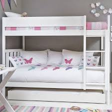 Bright White Darwin Bunk Bed