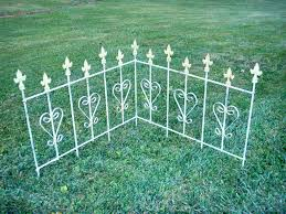 Decorative Garden Fence Panels by Wrought Iron Garden Fence Gardening Ideas