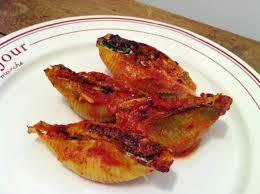 cuisiner la ricotta pâtes conchiglioni farcies à la ricotta et aux épinards envie de