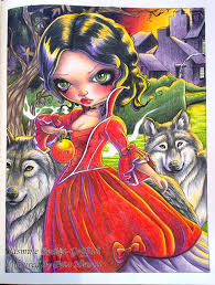 Third Jasmine Becket Griffith Picture Wolf Friend