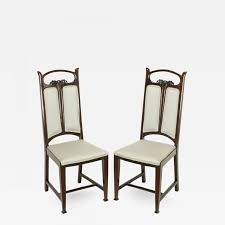 Pair Of Art Nouveau Mahogany Side Chairs With Dove Grey Wool ... Set Of 8 Vintage Midcentury Art Nouveau Style Boho Chic Italian Stunning Of Six Inlaid Mahogany High Back Chairs 2 Pair In Antiques Atlas Lhcy Solid Wood Ding Chair Armchair Lounge Nordic Style A Oak Set With Table Seven Chairs And A Side Ding Suite Extension Table France Side In Leather Chairish Gauthierpoinsignon French By Gauthier Louis Majorelle Caned An Edouard Diot Art Nouveau Walnut And Brass Ding Table Four 1930s American Classical Shieldback 4