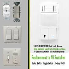 Humidity Sensing Bathroom Fan Wall Mount by Topgreener Tdos5 J 2 In 1 Occupancy Vacancy Motion Sensor Switch W