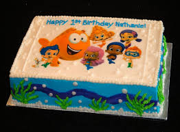 Bubble Guppies Cake Decorating Kit by Bubble Guppies Because The Top Of This Is An Edible Printout Of