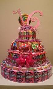 Cakes Decorated With Candy by Sweet 16 Candy Cake Cool Idea Stacey Party Ideas Pinterest