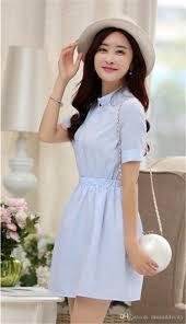 wholesale new spring shirt dress women summer dress 2017 fashion