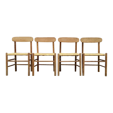 Mid-Century Modern Danish Børge Mogensen Style Dining Chairs - Set ... Danish Midcentury Modern Rosewood And Leather Ding Chairs Set Of Scdinavian Ding Chairs Made Wood Rope 1960s 65856 Mid Century Teak Seagrass Style Layer Design Aptdeco 6 X Style Room Chair 98610 Living Room Fniture Replica Wooden And Rattan 2 68007 Pad Lifestyle Herringbone Sven Ding Chair Sophisticated Eight Brge Mogsen In Vintage Market Weber Chair Weberfniturecomau Vintage Danish Modern