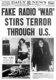 Vintage Ad Archive Halloween Hysteria by War Of The Worlds U0027 Broadcast Causes Chaos In 1938 Ny Daily News