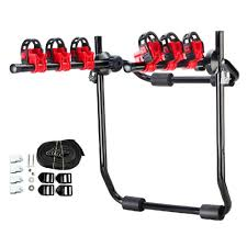 100 Bike Rack For Truck Hitch 3 Mount Hatchback SUV Car Bicycle Cycling Carrier