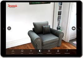 Jeromes Bedroom Sets by The Future Is Here Use Augmented Reality To Virtually Decorate