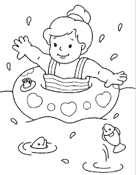 Summer Coloring Pages Book