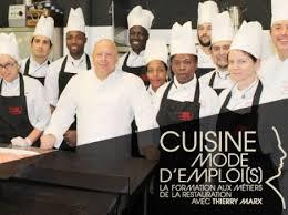 emploi cuisine mymajorcompany soutenez cuisine mode d emploi s avec thierry marx