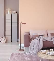 pfirsichfarbe trifft auf brauntöne bild 11 living at home