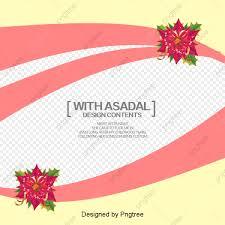 Fashion Flowers Wedding Invitation Card Design Creative