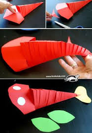 Wow Amazing Paper Fish How Cool Is This Craft Tey