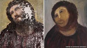 Famous Spanish Mural Artists by Spanish Fresco Restoration Botched By Amateur Bbc News