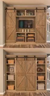 Wood Barn Door Storage Cabinet • Barn Door Ideas Bedroom Closet Barn Door Diy Cstruction How To Build Sliding Doors Custom Built Wooden Alinum Dutch Exterior Stall Epbot Make Your Own For Cheap Decor Diyawesome Interior Diy Decorations Bathroom Awesome Bathroom To A Inspired John Robinson House Ana White Cabinet For Tv Projects Build Barn Doors Tms 6ft Antique Horseshoe Wood A Howtos Let Us Show You The Hdware Do Or