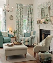 Living Room Decor In Muted Tones Of Duck Egg Aqua And Cornflower Blue I Have Always Liked Laura Ashley