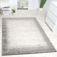 webteppich bordüre meliert kurzflor wohnzimmer
