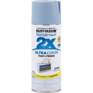 Rust-Oleum 314752 Painter's Touch 2x Ultra Cover 12 oz French Blue