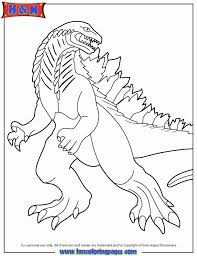 Free Preschool Godzilla Coloring Pages To Print OLoEv