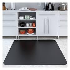 Desk Chair Mat Walmart by Deflect O Cm21442fblk Classic Black Hard Floor Chairmat Hard Floor