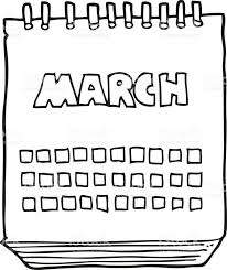 march calendar clipart OurClipart