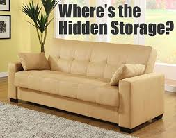 microfiber sofa bed with storage the pros cons