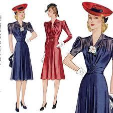 1940s Dress Pattern Bust 34 Simplicity 3472 Day Or Evening Sheer Overdress Short Long