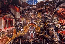 David Alfaro Siqueiros Famous Murals by David Alfaro Siqueiros Portrait Of The Bourgeoisie