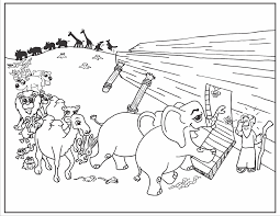 Noahs Ark Coloring Page Noah Archives Best Picture