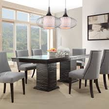 Wayfair Upholstered Dining Room Chairs by Dining Room Rustic Round Tables For Elegant Grey Wooden Table With