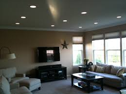 can lights in living room simple best recessed lighting for living