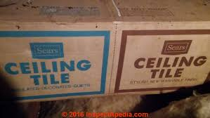 Do Acoustic Ceilings Contain Asbestos by Asbestos Ceiling Tiles How To Recognize Ceiling Tiles That May