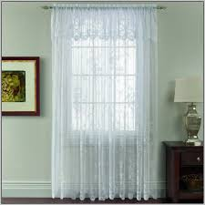 Priscilla Curtains With Attached Valance by Curtains With Valance Attached Curtains Home Design Ideas