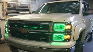 100 2014 Chevy Truck Colors Oracle Color Changing Headlight And Foglight Halo Kits For