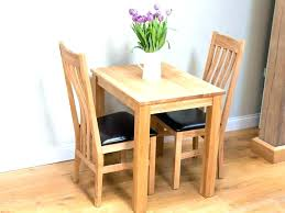 Two Seat Table Kitchen 2 Set Small Solid Oak Dining