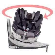 catégorie siège auto bébé siège auto pivotant 360 the one gris noir isofix groupe 0 1