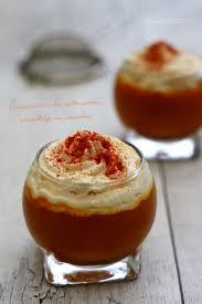 cuisiner le potimarron en l馮ume cappuccino de potimarron et chantilly au paprika amandine cooking