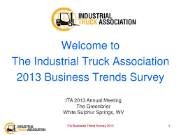 100 Truck Association PPT Welcome To The Industrial 2013 Business
