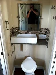Lovely Small Bathroom Layouts Featuring Ideas Space Saving Rv