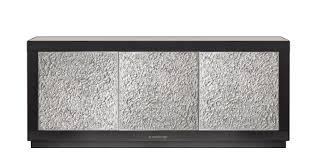 design sideboard mit 3 türen und 3 fächer holzschrank italian design made in italy schrank design wohnzimmer esszimmer neu