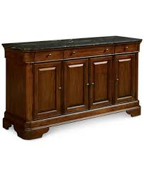 Bordeaux Marble Top Credenza Created for Macy s Furniture Macy s