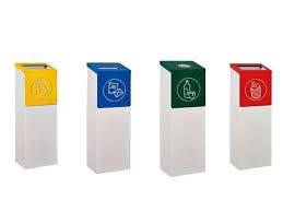 poubelle de bureau tri selectif corbeilles de bureaux recycle corbeilles de bureau