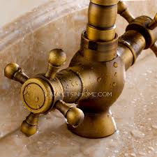 2 Handle Kitchen Faucet by Antique Brass 2 Handle Kitchen Faucets Brushed