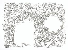 Greeting Card To Color Printable Coloring Page