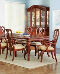 bordeaux louis philippe style 7 piece dining room furniture set