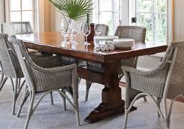 chaises en osier chaises en osier pour la salle à manger deco maison moderne