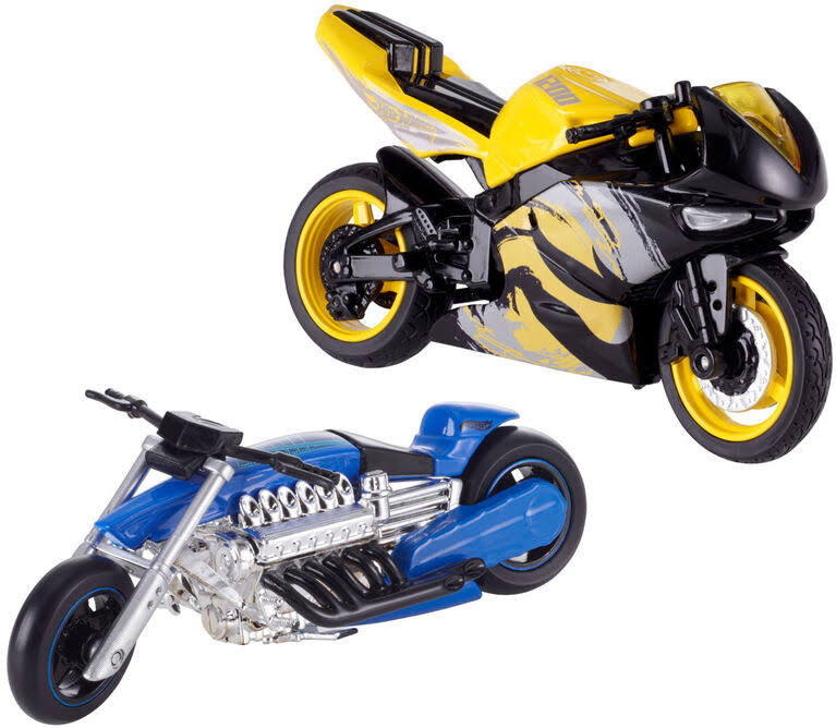 Hot Wheels MotorCycles - Fat Ride